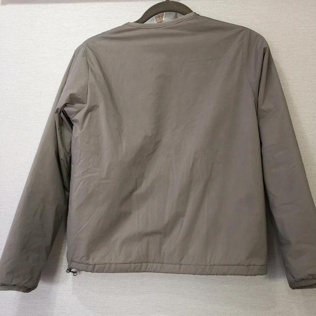 DANTON(ダントン)のダントン danton ナイロンストレッチタフタ ノーカラーjk 34サイズ レディースのジャケット/アウター(ノーカラージャケット)の商品写真