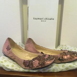 ツモリチサト(TSUMORI CHISATO)のツモリチサト  バレエパンプス 1度使用❣️(バレエシューズ)