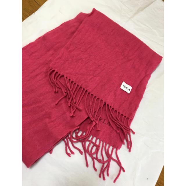 Furla(フルラ)の美品♡FURLAマフラー♡ピンク レディースのファッション小物(マフラー/ショール)の商品写真