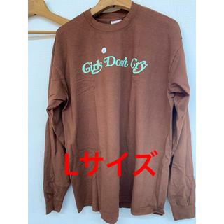 ジーディーシー(GDC)のL girls don't cry BUTTERFLY L/S T-SHIRT (Tシャツ/カットソー(七分/長袖))
