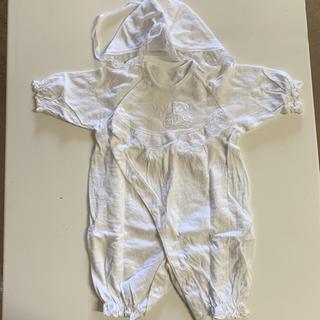 ニシマツヤ(西松屋)の新生児 お宮参り ロンパース 50センチ(お宮参り用品)