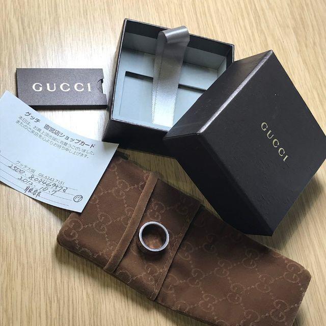Gucci(グッチ)のGUCCI / グッチ シルバー925 10号リング (90013282) メンズのアクセサリー(リング(指輪))の商品写真
