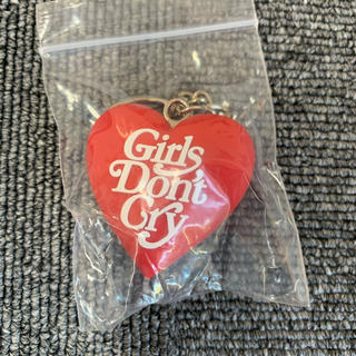 ジーディーシー(GDC)のGDC HEART KEYCHAIN RED  girls don't cry(キーホルダー)