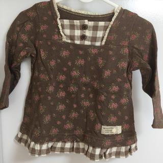 ビケット(Biquette)のBiquette 長袖カットソー 80(シャツ/カットソー)