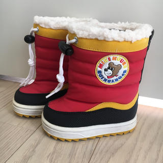 ミキハウス(mikihouse)の専用です!ミキハウス 長靴 ウインターブーツ スノーブーツ☆13㎝(長靴/レインシューズ)