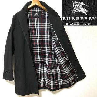 バーバリーブラックレーベル(BURBERRY BLACK LABEL)のヒッキー様専用! BURBERRYブラックレーベル ノバチェック スタンドコート(ステンカラーコート)