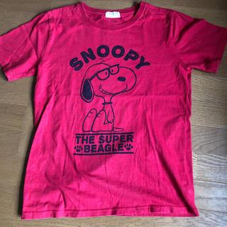 PEANUTS - スヌーピー #半袖Tシャツ#メガネ