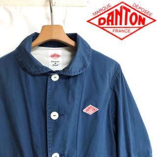 DANTON - 日本製!DANTON ダントン コットン ダウンプルーフラウンドカラージャケット