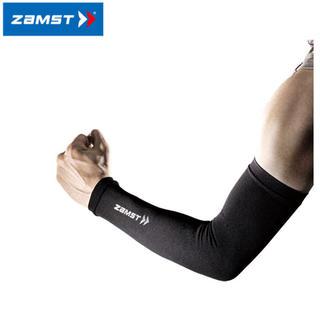 ザムスト(ZAMST)のZAMST ザムスト アームスリーブ  腕用スリーブ 両腕入り ブラック M(トレーニング用品)