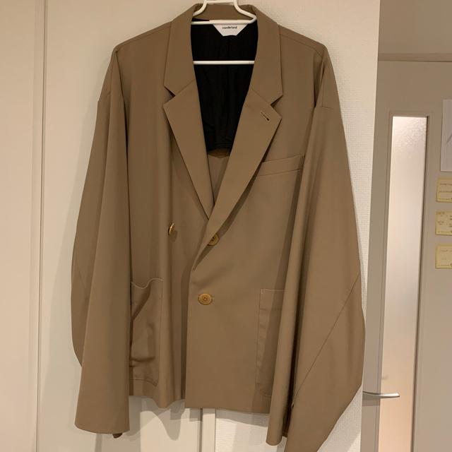 COMOLI(コモリ)の19ss wonderland テーラードジャケット メンズのジャケット/アウター(テーラードジャケット)の商品写真