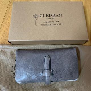 クレドラン(CLEDRAN)のクレドラン財布 グレー 新品未使用品(財布)