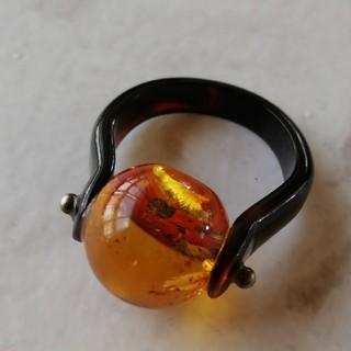 19号  琥珀リング(リング(指輪))