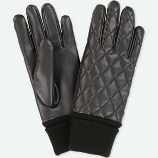 ユニクロ(UNIQLO)のユニクロ キルティング手袋(手袋)