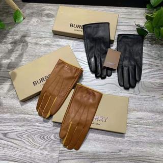 バーバリー(BURBERRY)のバーバリー レザーグローブ■手袋/メンズ/革(その他)