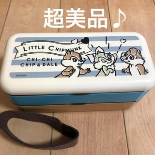 チップアンドデール(チップ&デール)の☆美品 CHIP & DALE チップ&デール お箸付き ランチボックス (弁当用品)