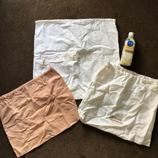 ミュウミュウ(miumiu)のクロエ、ヴィヴィアン、miumiu 有名ブランド保存袋(ショップ袋)