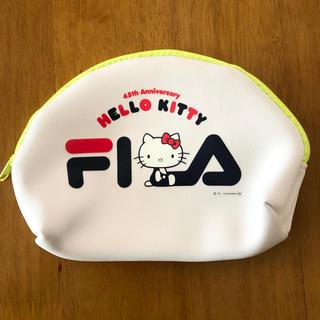 ハローキティ - FILA キティちゃんポーチ