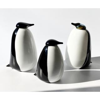 イッタラ(iittala)のオランダ限定 100体 ペンギン イッタラ バード オイバ・トイッカ(置物)