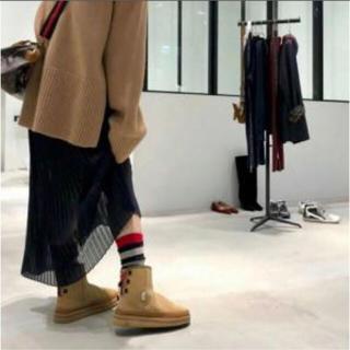 アパルトモンドゥーズィエムクラス(L'Appartement DEUXIEME CLASSE)のアパルトモン スイコック バックレースアップ ショートブーツ(ブーツ)