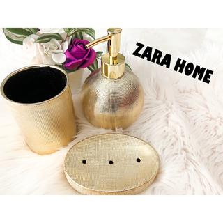ザラホーム(ZARA HOME)の★zara home 歯ブラシ入れ、石鹸置き、ソープ入れ(歯ブラシ/歯みがき用品)