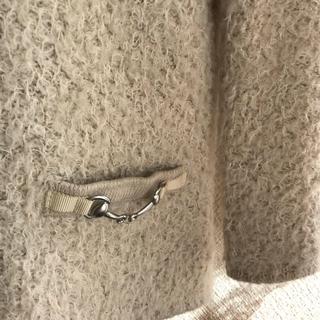 アンタイトル(UNTITLED)のuntitled ふわふわのジャケット?(ノーカラージャケット)