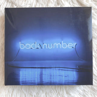 バックナンバー(BACK NUMBER)のbacknumber アンコール 初回限定盤B 【プルメリア様専用⠀】(ポップス/ロック(邦楽))