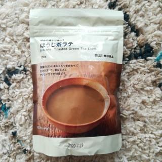 ムジルシリョウヒン(MUJI (無印良品))の無印良品 ほうじ茶ラテ(茶)