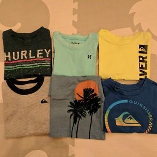 Hurley - サーフブランド Tシャツ 6点セット 2T 90CM ハーレー クイックシルバー