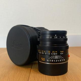 LEICA - summicron M 50mm F2 レンズフード組込 ブラック