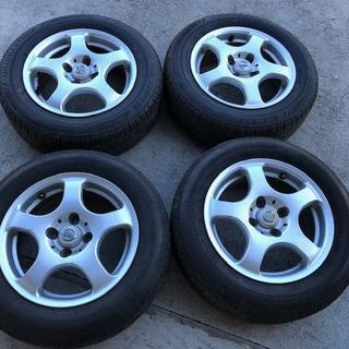 ニッサン(日産)のニッサン タイヤ+ホイール4本セット 14インチ ブリヂストン NISSAN(タイヤ・ホイールセット)