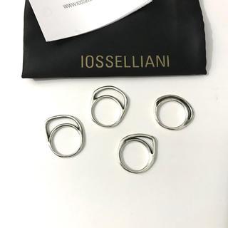 イオッセリアーニ(IOSSELLIANI)のIOSSELLIANI イオッセリアーニ 8連パズルリング シルバー(リング(指輪))