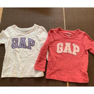 babyGAP - babyGAP長袖Tシャツ 2枚組