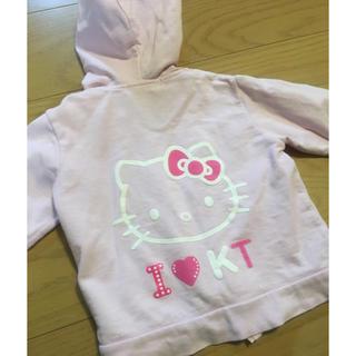 ハローキティ(ハローキティ)のパーカー  ピンク  キティちゃん(ジャケット/上着)