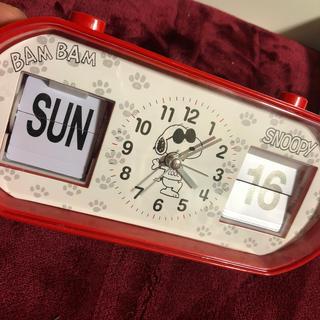 スヌーピー(SNOOPY)のスヌーピー 目覚まし時計(置時計)