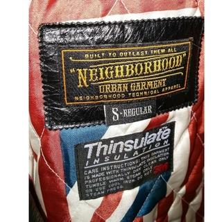 ネイバーフッド(NEIGHBORHOOD)のネイバーフッドの革のジャケット(レザージャケット)