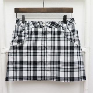 キャロウェイゴルフ(Callaway Golf)のcallaway キャロウェイ チェック柄スカート サイズS(ミニスカート)