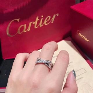 カルティエ(Cartier)のCartier カルティエ  リング シルバー(リング(指輪))
