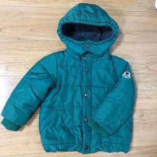 プティマイン(petit main)のプティマイン 袖リブ中綿ジャケット キッズ サイズ110(ジャケット/上着)