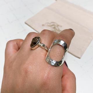 Bijumam ビジュマム シルバー925 サークルリング デザインリング(リング(指輪))