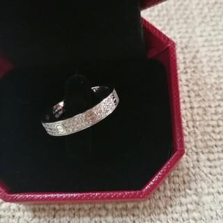 カルティエ(Cartier)の美品Cartier カルティエ リング 指輪 めちゃめちゃ可愛い (リング(指輪))