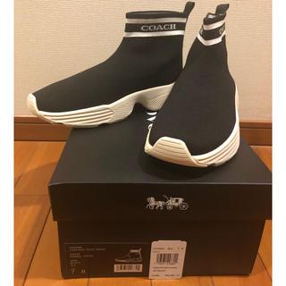 COACH - 新品 未使用 2019AW コーチ スニーカーブーツ US7サイズ