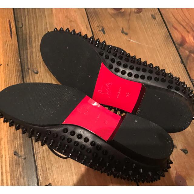 Christian Louboutin(クリスチャンルブタン)のルブタン ✴︎阪急購入✴︎ブラック美品24 レディースの靴/シューズ(ローファー/革靴)の商品写真