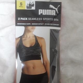 プーマ(PUMA)の新品2枚セット!プーマ スポーツブラ(ブラ)