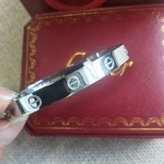 カルティエ(Cartier)の19cmCartier カルティエ ブレスレット ラブブレス 男女兼用(ブレスレット)