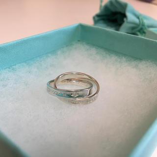ティファニー(Tiffany & Co.)のティファニー   11号  ダブルリング(リング(指輪))