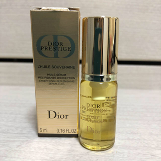 クリスチャンディオール(Christian Dior)のディオール プレステージ ソヴレーヌオイル ラクレーム(美容液)