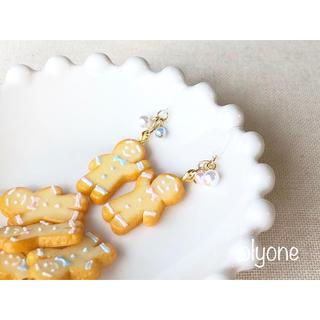 ジンジャーマンクッキーのピアス(ピアス)