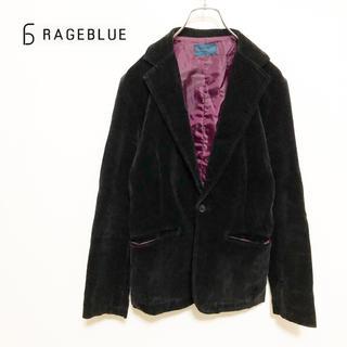 レイジブルー(RAGEBLUE)の★【RAGEBLUE】ベロア テーラードジャケット(テーラードジャケット)