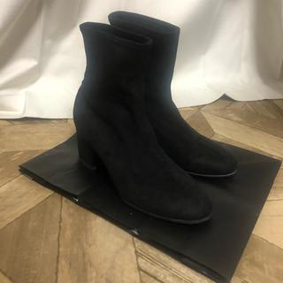 ユニクロ(UNIQLO)のたんさま専用  ユニクロ ストレッチショートブーツ 23.5cm(ブーツ)