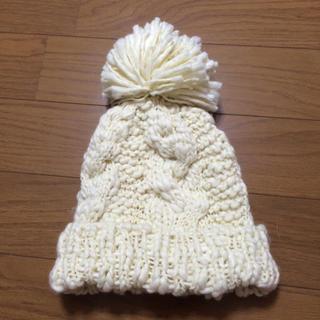 スナイデル(snidel)のスナイデルニット帽ビーニー、スノボにも◎(ニット帽/ビーニー)